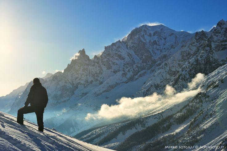 Ciaspolata fotografica: Il Balcone sul Monte Bianco - Trekking Fotografici - Breathtaking Photography