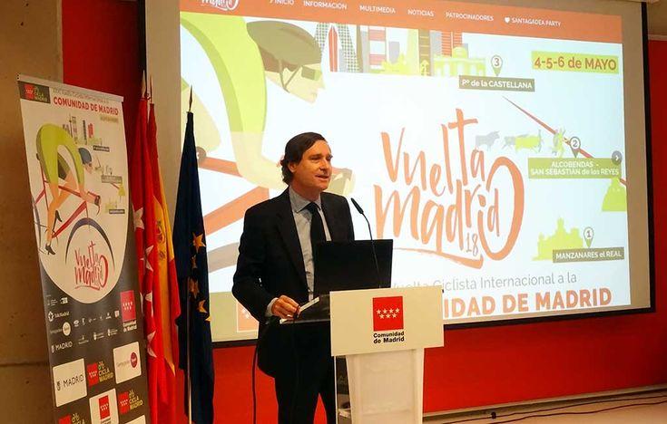 Se ha presentado hoy la XXXI Vuelta Ciclista a la Comunidad de Madrid, un evento deportivo que reunirá en la región a más de 200 ciclistas pertenecientes a 17 equipos internacionales.