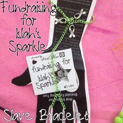 IslahsSparkle Aluminium Chain with Awareness Charms Slave-Bracelet https://www.facebook.com/IslahsSparkle