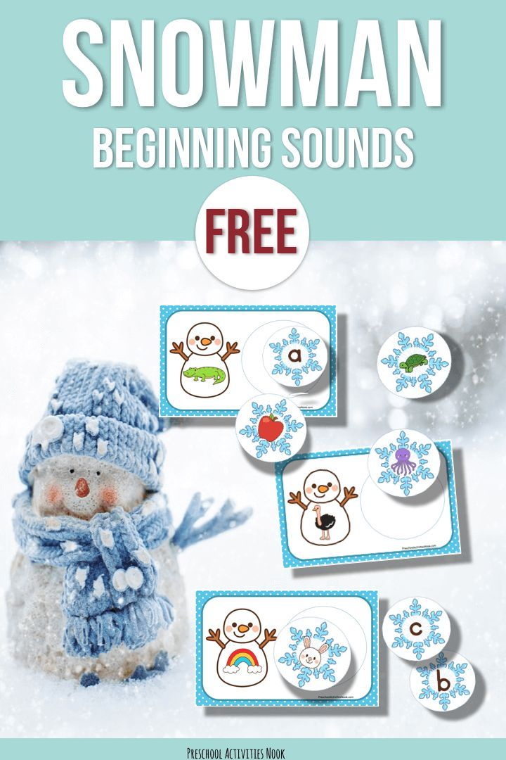 Looking for a winter beginning sounds activity? Try this snowman printable to teach letter sounds and work on the alphabet. We love all things snow and snowmen in our class! This beginning sounds activity will work in a variety of your literacy centers during winter and is suitable for preschool, pre-K, Kindergarten and early intervention. …
