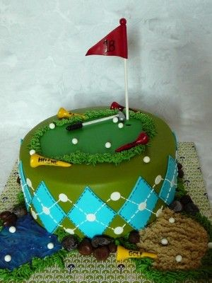 1000+ images about Golf cake on Pinterest | Golf Cakes, Golf Cupcakes ...