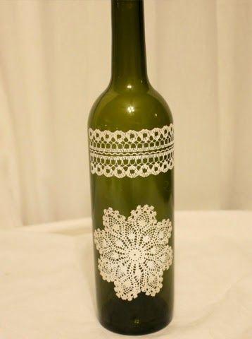 Reciclar e decorar: garrafas que iriam para o lixo transformadas em peças decorativas ~ Tatiana, um simples vaso