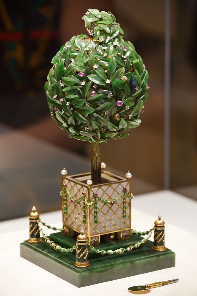 Bay Tree Easter Egg | Fabergé Eggs: Mementos of a Dynasty ...