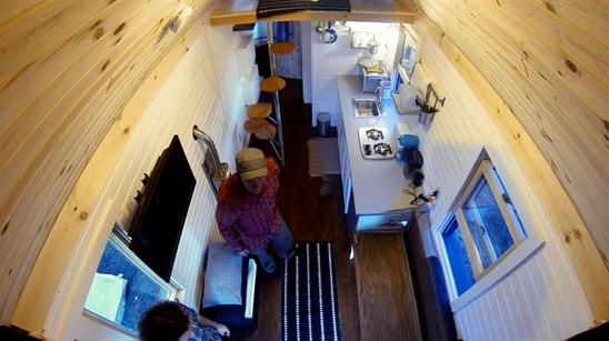 Watch the 150 Sq. Ft. Mobile Bachelor Pad full episode from Season 1, Episode 7 of FYI's series Tiny House Nation. Get more of your favorite full episodes only on FYI.