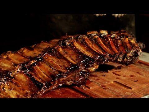 Costillar a Pura Leña Inyectado al Vino Tinto! Receta de Locos X el Asado - YouTube