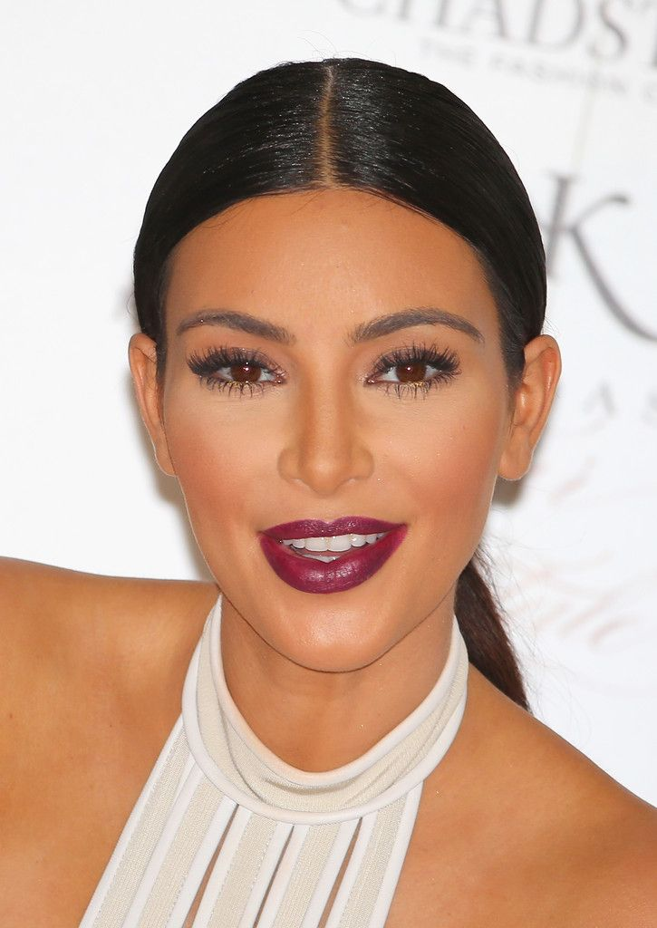 "Kim Kardashian smiles as she promotes her new fragrance ""Fleur Fatale"""