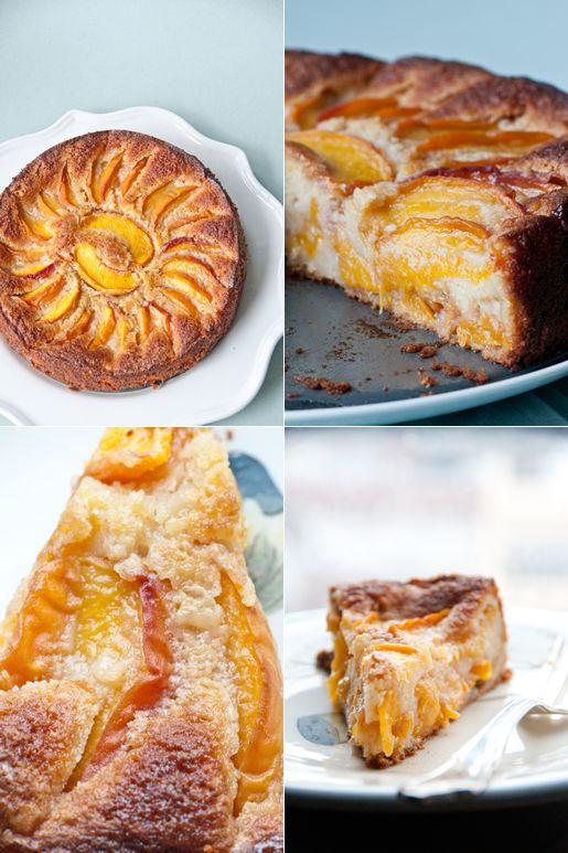 Bourbon Peach Torte
