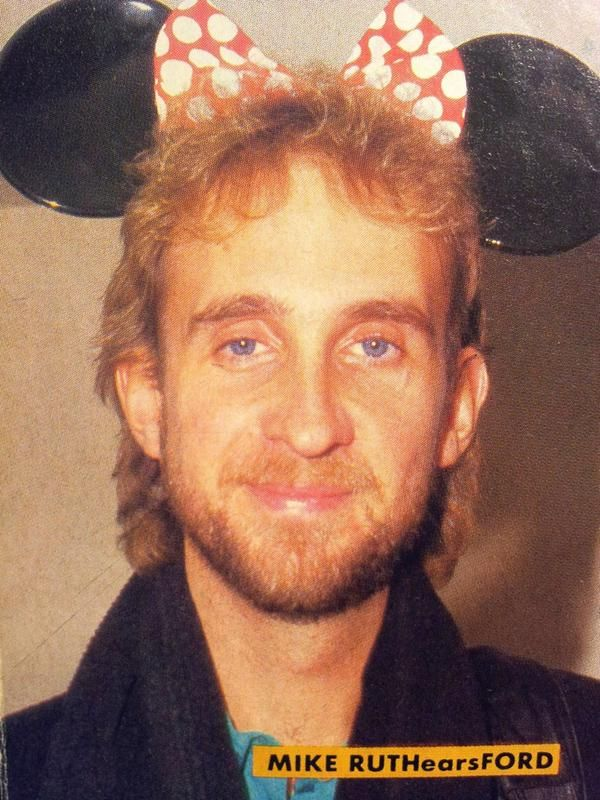 Robert Ellis photo: Mike Rutherford taken during the Invisible Touch Tour of Japan @ Tokyo Disneyland.
