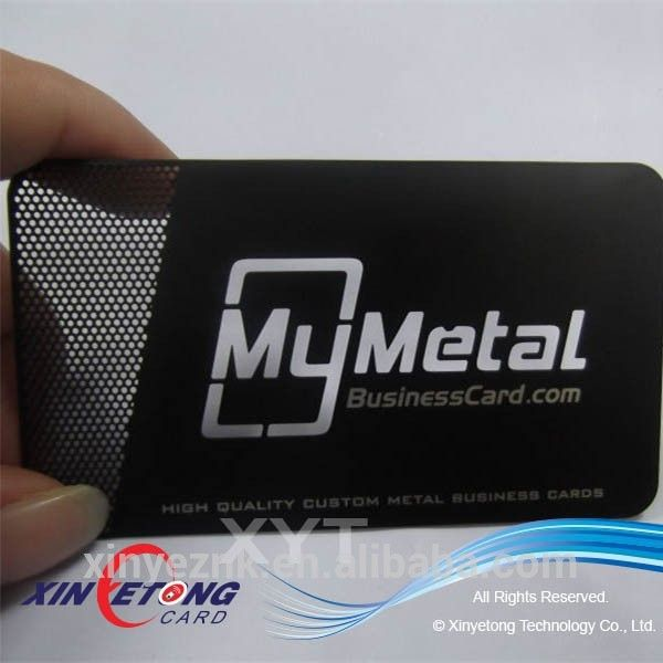 Cut Out Metal Bussiness Card Stainless steel Business Card