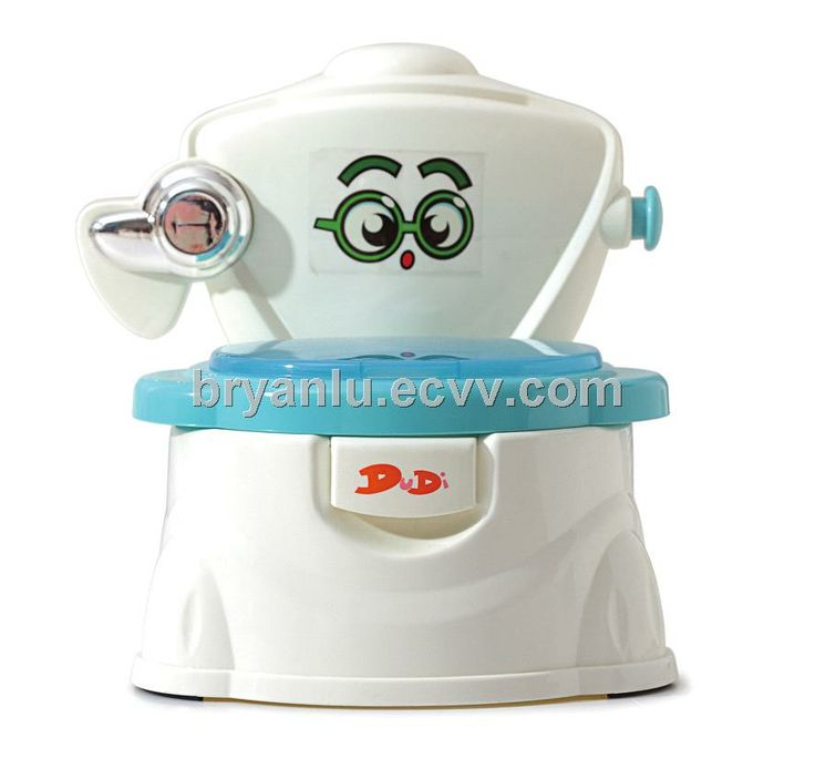 Baby potty with valves imitating adult model DA-6813 - China Baby potty