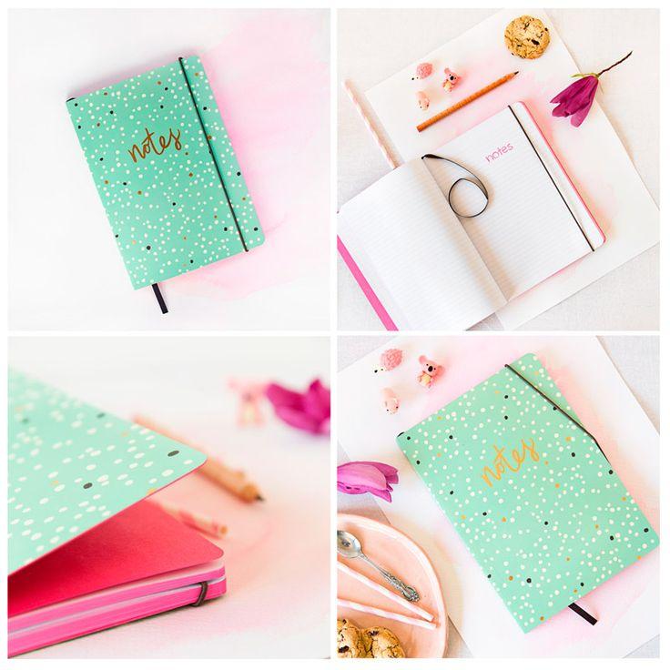 "Cuaderno DeLuxe ""Notes"""