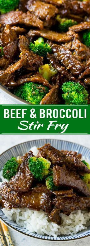 Beef and Broccoli Stir Fry Recipe | Beef and Broccoli | Asian Beef | Beef Stir F…   – When you can't decide what to eat …..