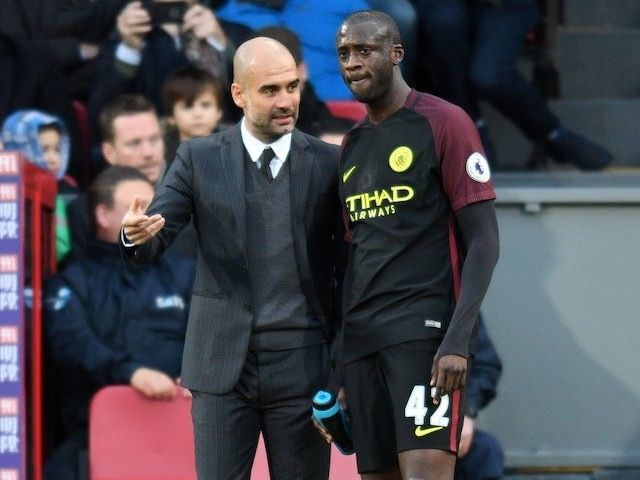 "Pep Guardiola ready to discuss ""exceptional"" Yaya Toure's future"