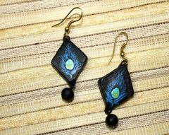 Terracotta Jewelry #earrings #terracotta #jewelry buy these at www.craftsandlooms.com #craftsandlooms