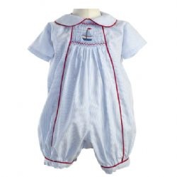 Clothing & Accessories Baby Wear Sailboat Smocked Babysuit-Rachel Riley