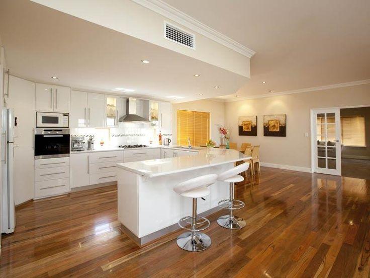 1000 ideas about modern open plan kitchens on pinterest kitchen photos open plan and high for Open plan kitchen design gallery