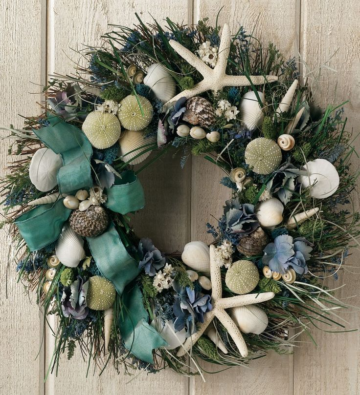 Summer Shore Wreath is like a day at the beach - even if you can't get there!