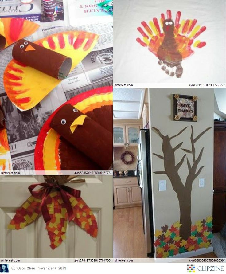 Pinterest Thanksgiving Crafts