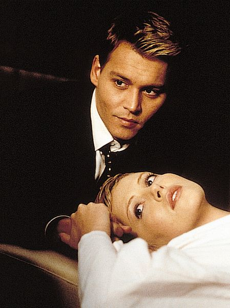 Johnny Depp, Charlize Theron [The Astronaut's Wife]