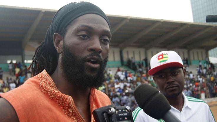 Togo's Emmanuel Adebayor preparing for memorable African Nations Cup