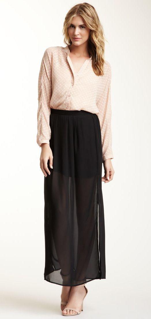 Daniel Rainn Maxi Skirt
