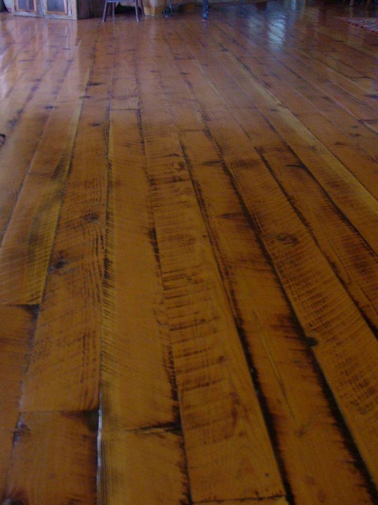 Rough cut doug fir flooring  Home inspiration  Flooring