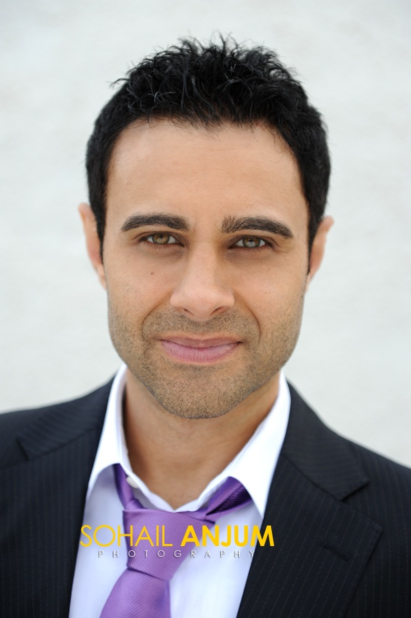 Rez Kempton #Actor #British #Asian #movies #theatre #headshot #portrait