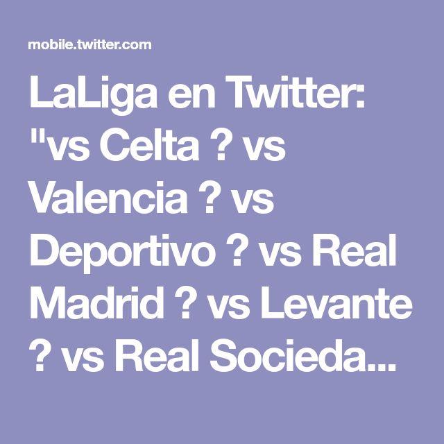 """LaLiga en Twitter: """"vs Celta ✅ vs Valencia ✅ vs Deportivo ➖ vs Real Madrid ✅ vs Levante ✅ vs Real Sociedad ✅ El @VillarrealCF, que lleva sin perder en #LaLiga desde diciembre (contra el FC Barcelona), ¡ha sumado 16 de los últimos 18 puntos! 🔥 https://t.co/ENimfECGfz"""""""