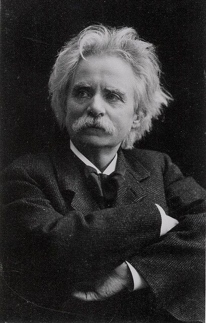 EDVARD GRIEG - sounds like a composer, looks like a composer, and by golly he was a composer.