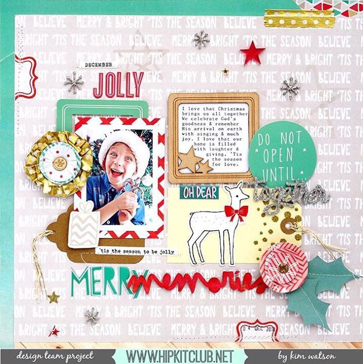 1000+ images about Christmas-Scrapbooking & Printables on Pinterest ...