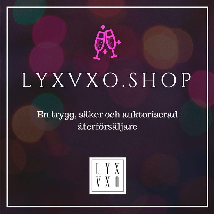 Lansering av LYXVXO.SHOP