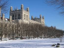 14. UNIVERSITY OF CHICAGO, IL: #14 overall top American colleges, Forbes; student population 14,979; student to faculty ratio 6; total annual cost $62,425; out of state tuition $45,609; percent admitted 13.0%; SAT composite range 1400-1570