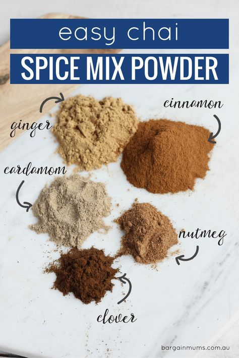 I discovered chai a few years back, and ever since then I have been hooked. There are some pre-made chai powder in the tea and coffee section of the supermarket, but they contain so many extras that I'm really not keen on drinking on a regular basis, not to mention the high amounts of […]