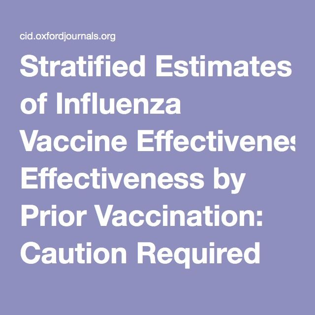 Stratified Estimates of Influenza Vaccine Effectiveness by Prior Vaccination: Caution Required