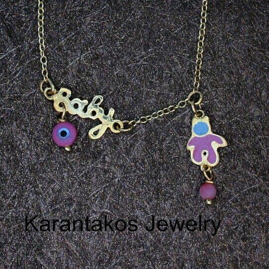 #karantakos #jewelry #jewellery #fashion #design #designer #gold #14k #baby #girl #gift #christmas #love #good #luck #happy #italian