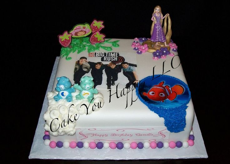 Big Time Rush Birthday Cake Cakes Cake Cake Images
