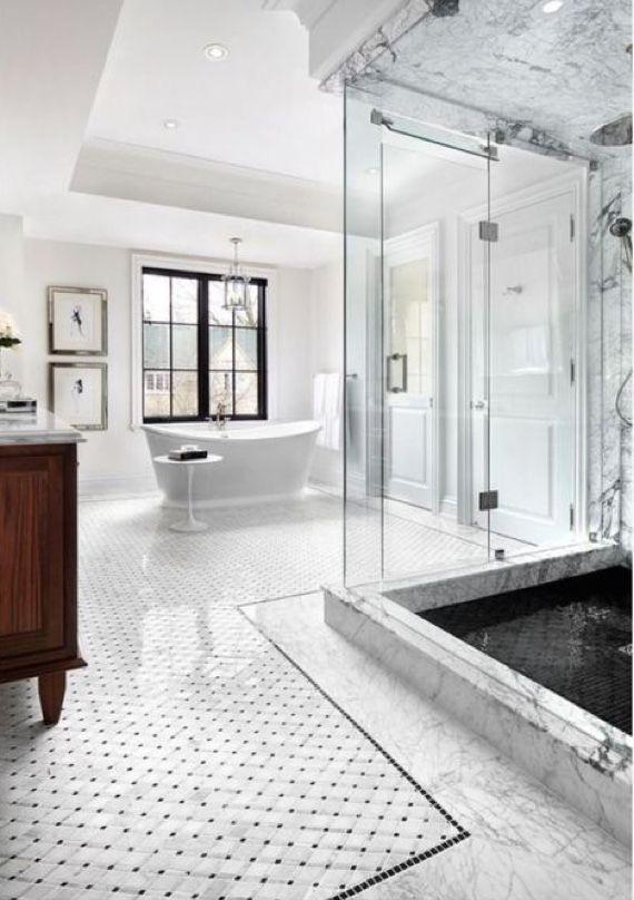 Pinterest Haleyxmorrill Transitional Bathroom Design Bathroom Design Luxury Bathroom Tile Designs