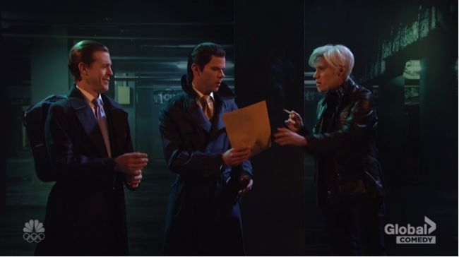 Donald Trump Jr. has clandestine meeting with WikiLeaks' Julian Assange in SNL cold open https://tmbw.news/donald-trump-jr-has-clandestine-meeting-with-wikileaks-julian-assange-in-snl-cold-open  This week's Saturday Night Live cold open took advantage of recent revelations that U.S. President Donald Trump 's eldest son Donald Trump Jr. communicated with WikiLeaks during the U.S. presidential campaign, depicting Trump Jr. and WikiLeaks founder Julian Assange in a clandestine meeting.Set in…
