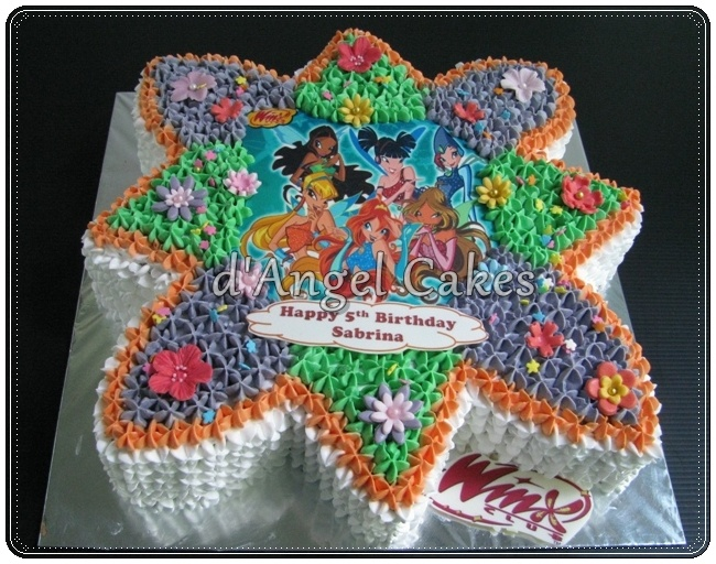 Image detail for -Winx Club Cake & Cupcakes