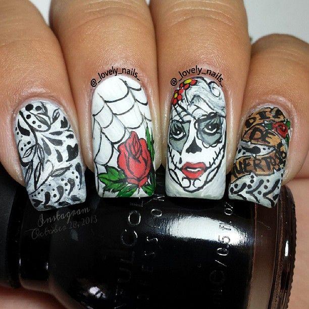 Halloween by _lovely_nails_ #nail #nails #nailart