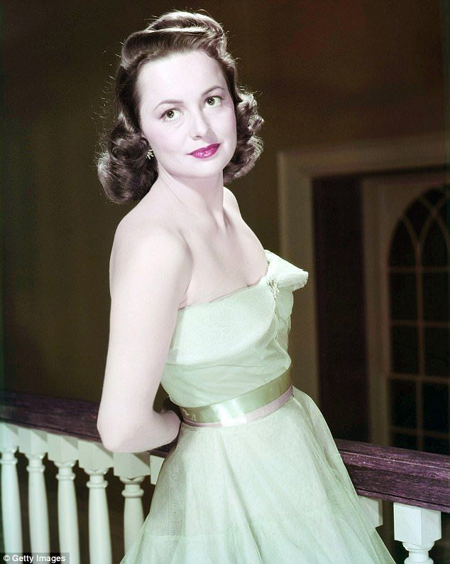 Her lawyers are asking the court for an expedited court date because of de Havilland's age. She will turn 101 on Saturday. She is pictured around 1940