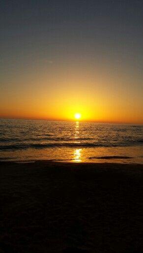 Coucher de soleil, Batz sur mer