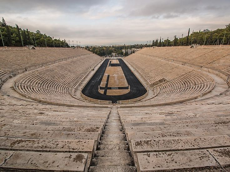 Panathenaic Stadium in Athens, Greece | Sygic Travel / This magnificent multi-purpose stadium is unique as it is entirely made of white marble. It hosted the first modern Olympic games in 1896 and then it was used again as a location for 2004 Summer Olympics.