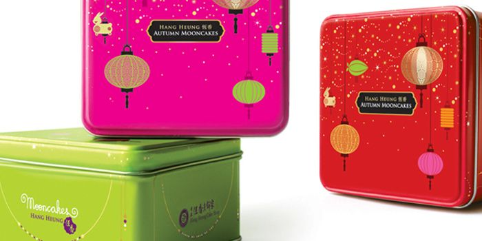These Moon Cake tins design from Elsie Tam, freelance designer from Hong Kong, are ones worth keeping.