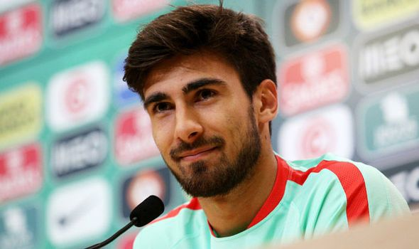 André Gomes.  Portugal Football team.