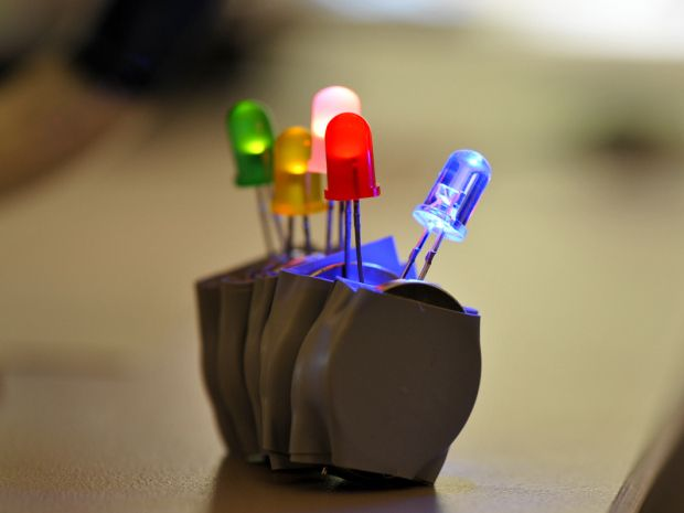 20 best Project Ideas: Fun with LEDs!! images on Pinterest | Maker ...