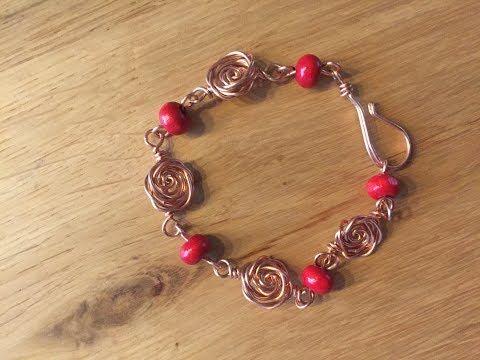 Diy sieraden: roos armband (4)