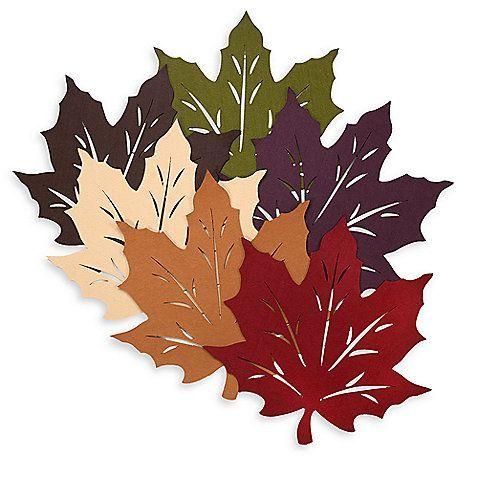 Осенние листья из фетра своими руками | Блог мамы онлайн
