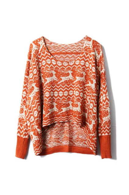 If I was going to have a Christmas sweater, this would be it. I would thoroughly amuse myself.
