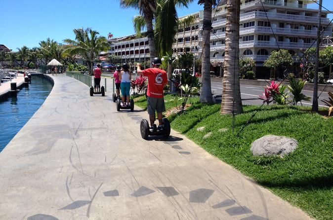 Papeete's Waterfront Segway Tour Enjoy spectacular views of the Papeete waterfront while you glide along on a Segway. A Segway is a great way to get around, it is easier than walking, and more unique and personalized than a coach tour. On this tour you'll visit many of Papeete's top attractions including Vaiete Square, New Marina, Paofai Park and the Monument of Independence.Meet your guide in Vaiete Square in Papeete. After an in-depth training session to get familiar with y...